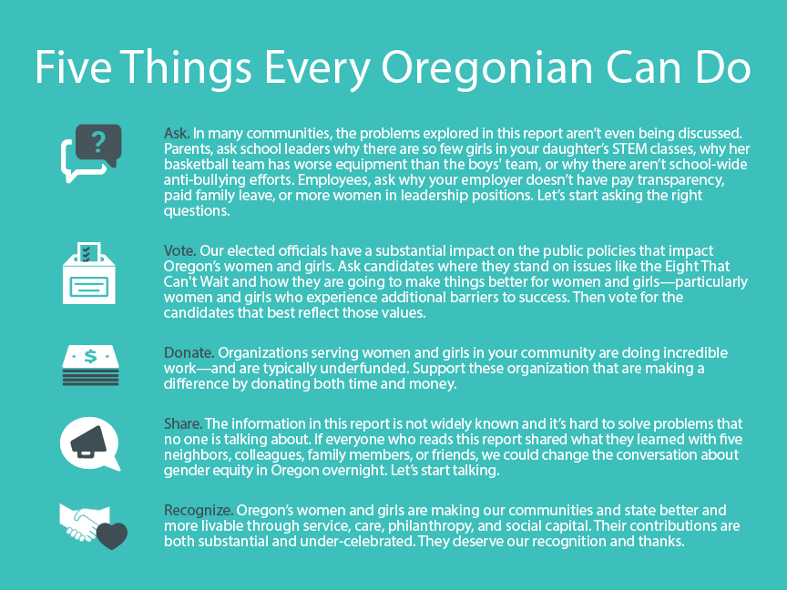 5 things every Oregonian can do