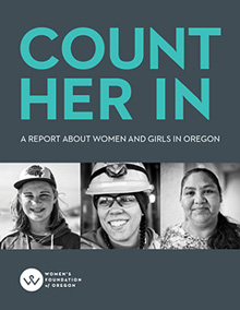 Count Her In Report Cover Image
